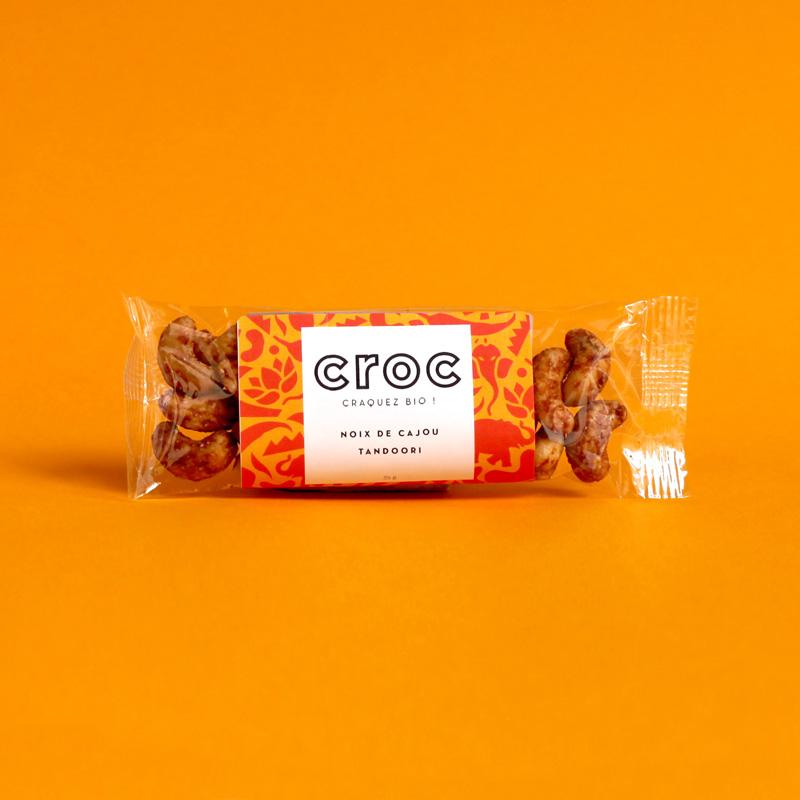 noix de cajou tandoori croc snack noix de cajou bio et éthique grossiste noix de cajou bio sachet