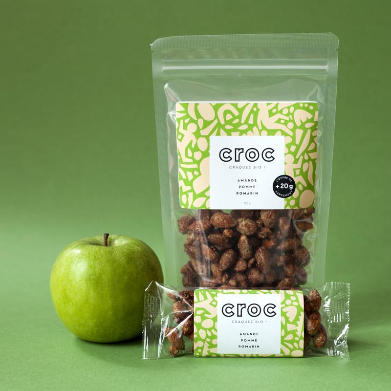 mélange amande pomme romarin bio mélange amandes bio