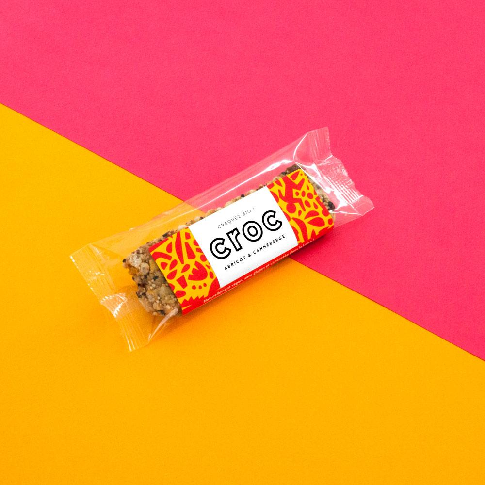 barre de céréales bio abricot canneberge barre céréales bio aux fruits