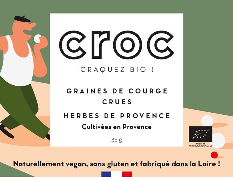 graines de courges crues herbes de provence bio éthique grossiste noix de cajou bio France