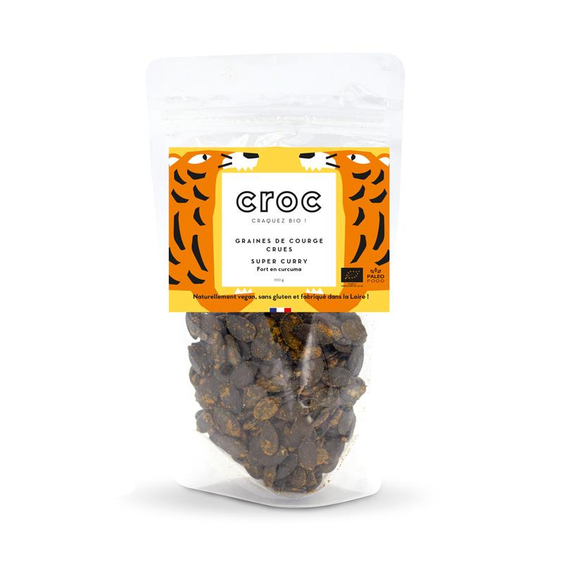 graines de courge crues super curry graines de courge bio éthique grossiste noix de cajou bio France